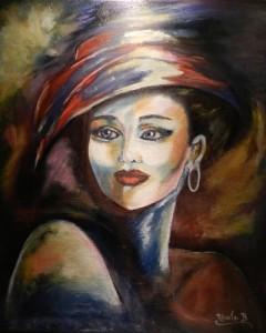 Femme de lumière. dans huile sur toile 145-femme-de-lumiere-46x38-ok-240x300
